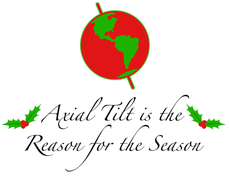 Axial Tilt is the Reason for the Season
